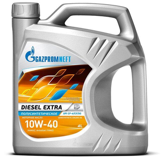 Моторное масло Газпром Diesel Extra 10W40 CF-4/CF/SG 4л