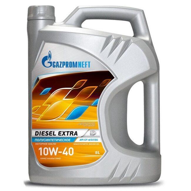 Моторное масло Газпром Diesel Extra 10W40 CF-4/CF/SG 5л