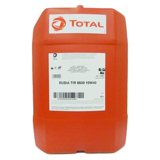 Моторное масло Total Rubia TIR 8600 10W40