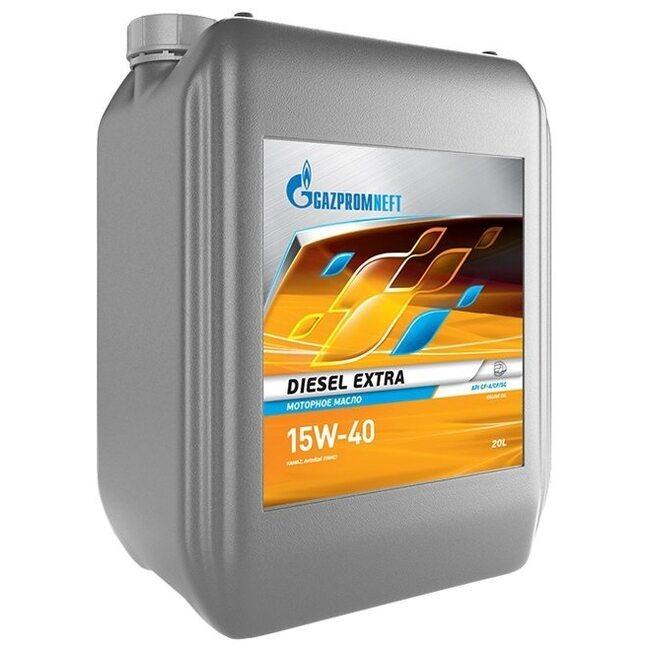 Моторное масло Газпром Diesel Extra 15W40 CF-4/CF/SG 20л