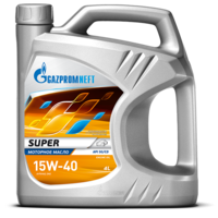 Газпром Super 15W40 5л