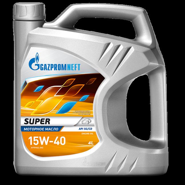 Моторное масло Газпром Super 15W40 5л