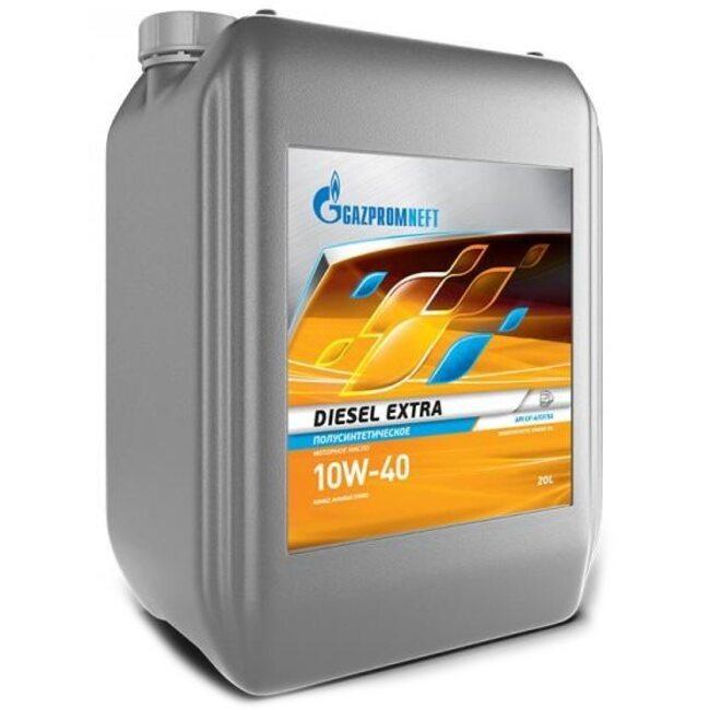 Моторное масло Газпром Diesel Extra 10W40 CF-4/CF/SG 20л