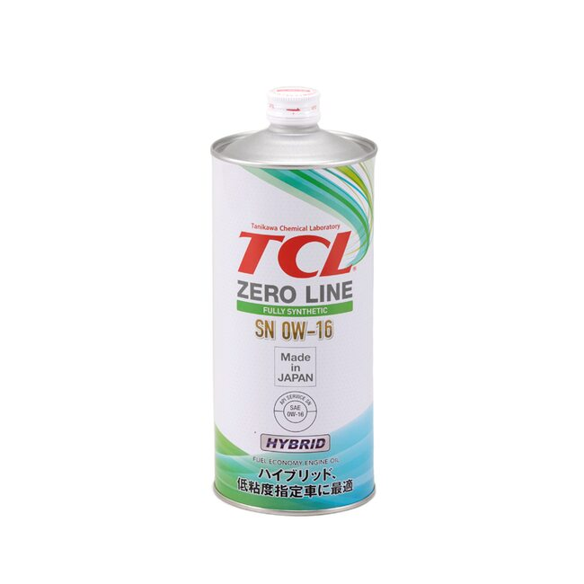 Моторное масло TCL Engine Oil Zero Line 0W16 1л