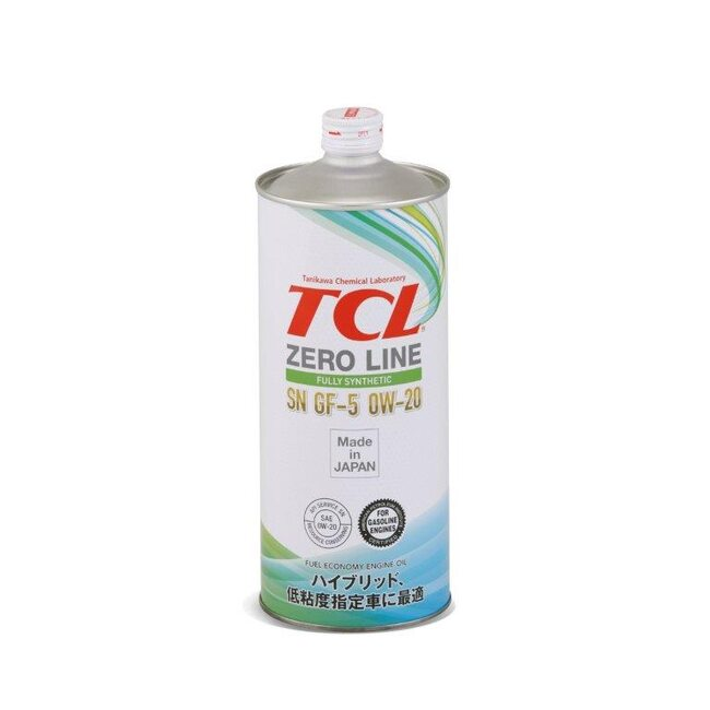 Моторное масло TCL Engine Oil Zero Line 0W20 1л