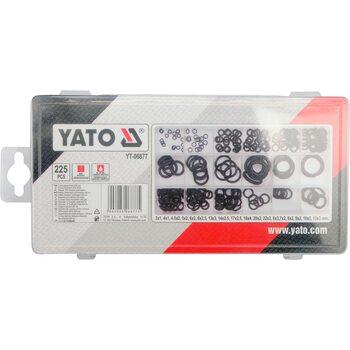 Набор уплотнительных колец 225 шт YATO YT-06877