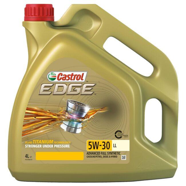 Моторное масло CASTROL Edge LL 5W30 4л