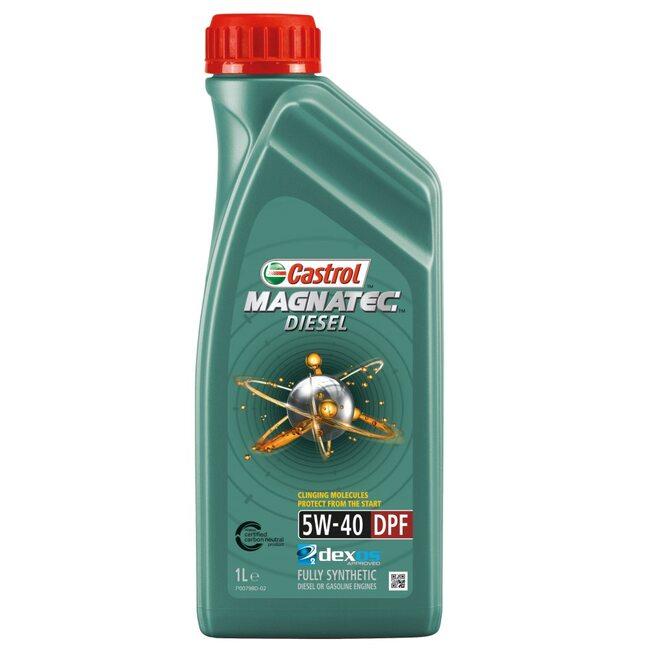 Моторное масло CASTROL Magnatec Diesel 5W40 1л