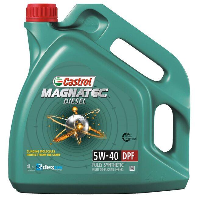 Моторное масло CASTROL Magnatec Diesel 5W40 4л