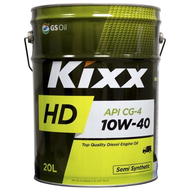 Моторное масло KIXX HD CG-4 10W40 20л