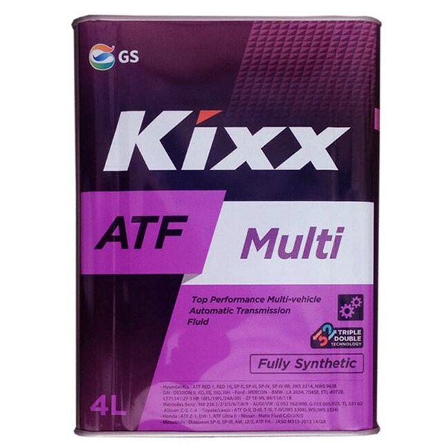 Трансмиссионная жидкость АКПП KIXX ATF Multi TC 4л