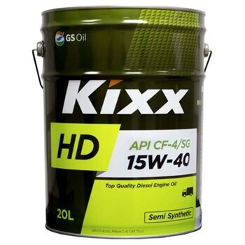 KIXX HD CF-4/CG 15W40 20л