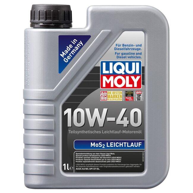 Моторное масло Liqui Moly MoS2 Leichtlauf 10W40 1л