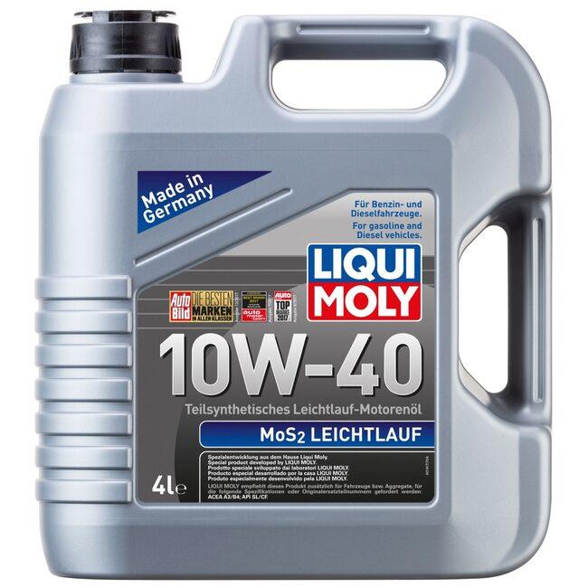 Моторное масло Liqui Moly MoS2 Leichtlauf 10W40 4л