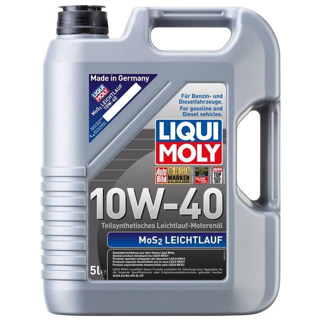 Моторное масло Liqui Moly MoS2 Leichtlauf 10W40 5л