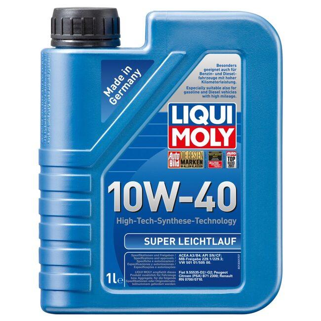 Моторное масло Liqui Moly Super Leichtlauf 10w40 1л