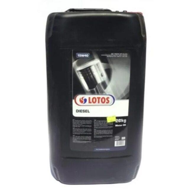 Моторное масло LOTOS MINERALNY DIESEL CG-4/SJ 15W40 30л