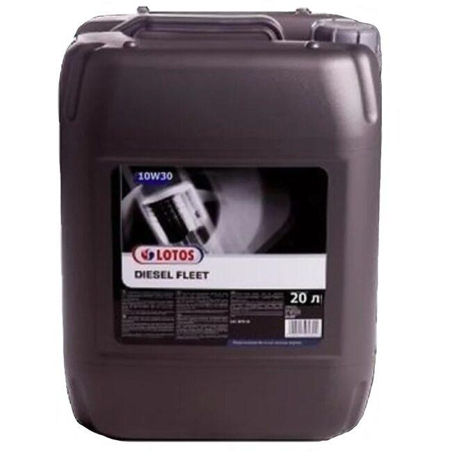 Моторное масло LOTOS DIESEL FLEET SAE 10W30 20л