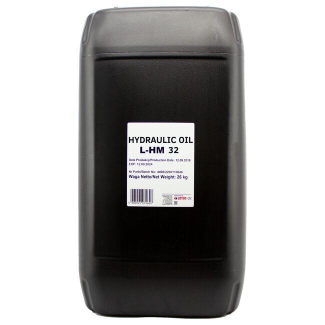 Гидравлическое масло LOTOS HYDRAULIC OIL L-HM 32 - 30л