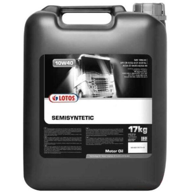 Моторное масло LOTOS Semisynthetic MOTOR CLASSIC SG/CE 10W40 20л