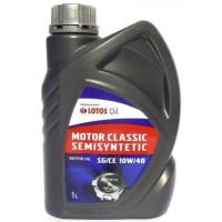 LOTOS Semisynthetic MOTOR CLASSIC SG/CE 10W40 1л