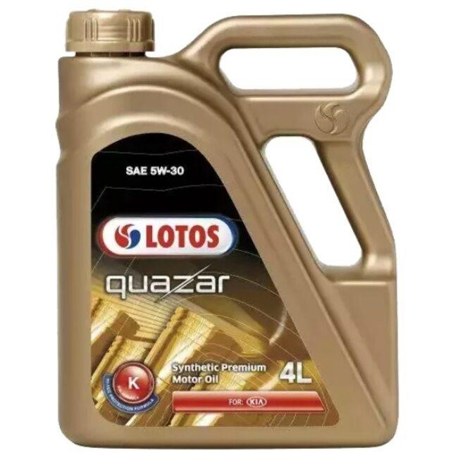 Синтетическое моторное масло LOTOS Quazar K 5W30 4 л