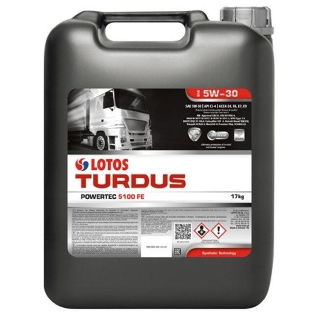 Моторное масло LOTOS TURDUS POWERTEC 5100 FE SAE 5W30 20л