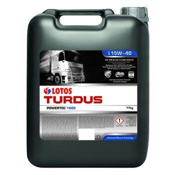 LOTOS TURDUS POWERTEC 1000 SAE 15W40 17кг-20л