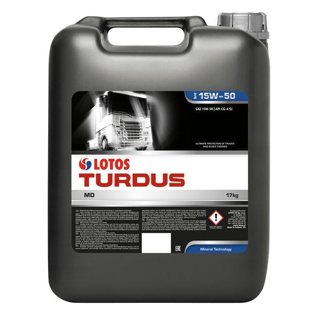 Моторное масло LOTOS TURDUS MD CG-4/SJ 15W50 20л