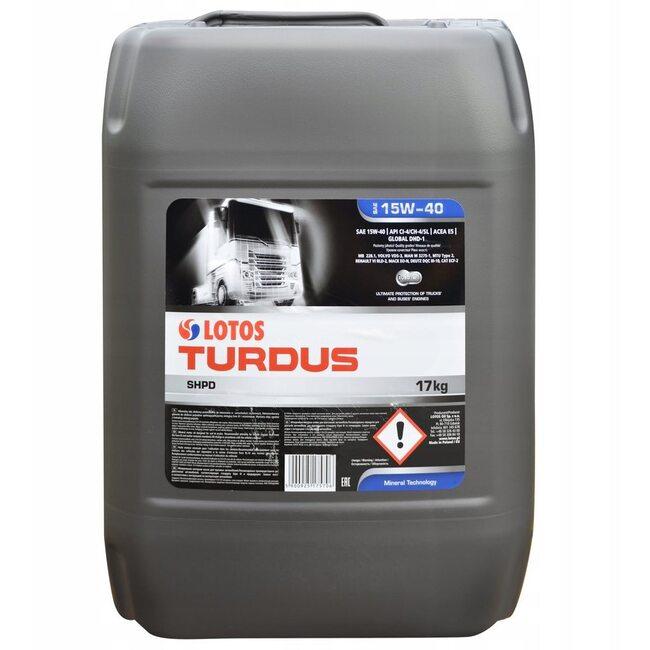 Моторное масло LOTOS TURDUS SHPD SAE 15W40 20л