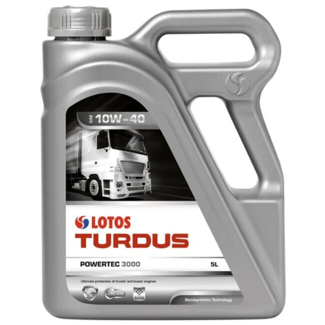 Моторное масло LOTOS TURDUS POWERTEC 3000 CI-4 10W40 5л