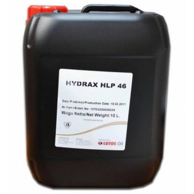 Гидравлическое масло LOTOS HYDRAX HLP 46 - 10л