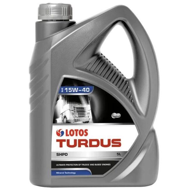 Моторное масло LOTOS TURDUS SHPD SAE 15W40 5л