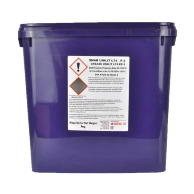 Пластичная смазка LOTOS Grease Unilit LT-4 EP 2 - 9 кг