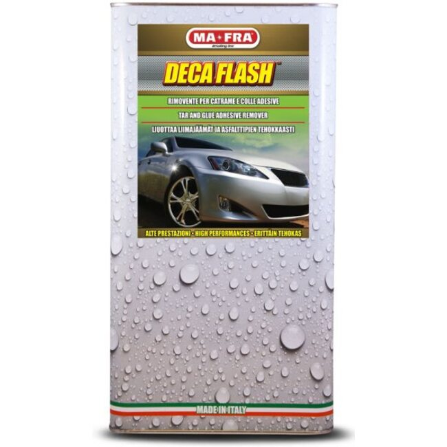 Очиститель битума паста Ma-Fra Deca Flash Liquid 4,5л.