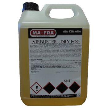 Дезинфицирующее средство для распыления в воздухе Ma-Fra Virbuster Dry Fog 5л