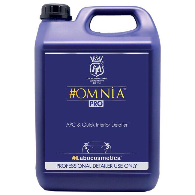 Очиститель интерьера LABOCOSMETICA OMNIA 4.5л: ткани, кожи, пластика