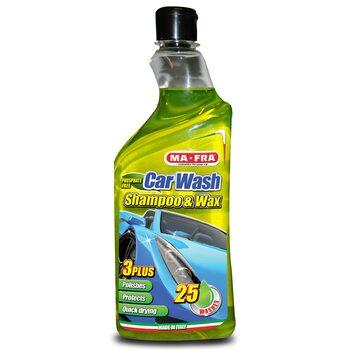 Ручной автошампунь Ma-Fra CAR WASH SHAMPOO & CERA 750мл