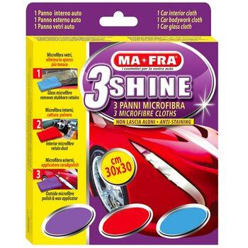 Комплект микрофибр Ma-Fra 3 SHINE PANNO