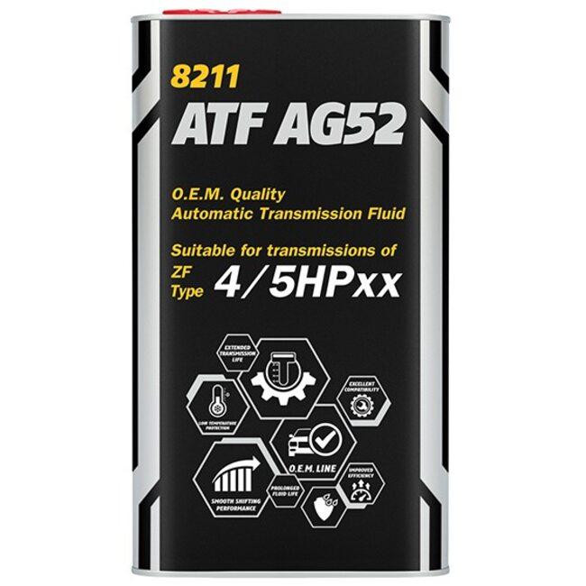 Трансмиссионное масло Mannol ATF AG52 Automatic Special - 1л