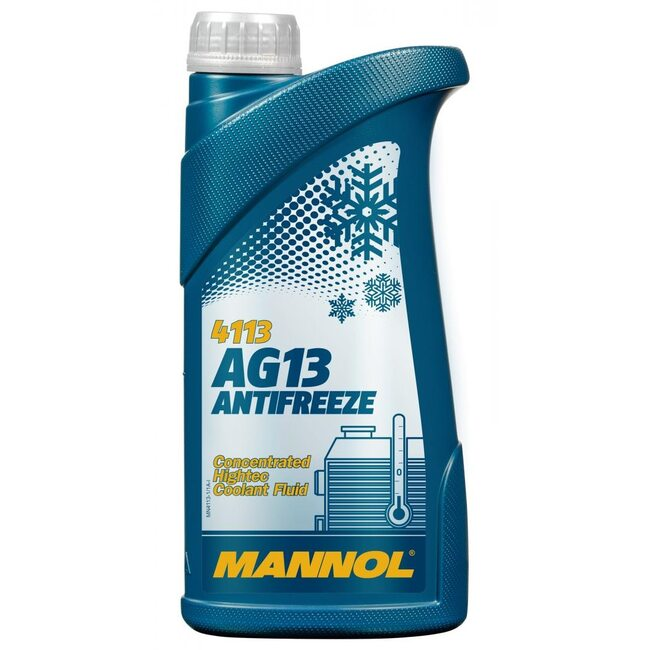 Антифриз Mannol AG13 Зеленый - 1л
