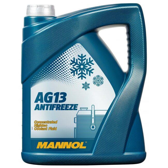 Антифриз Mannol AG13 Зеленый - 5л