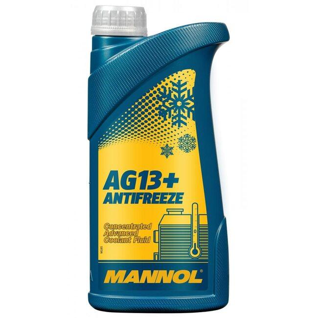 Антифриз Mannol AG13 Желтый - 1л