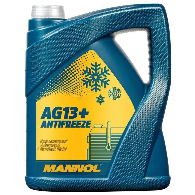 Антифриз Mannol AG13 Желтый - 5л