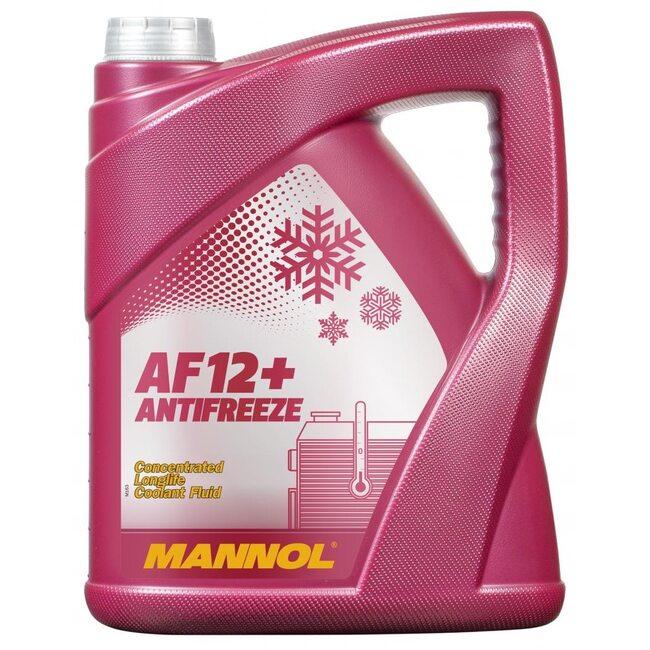 Антифриз Mannol AG12 5л Красный