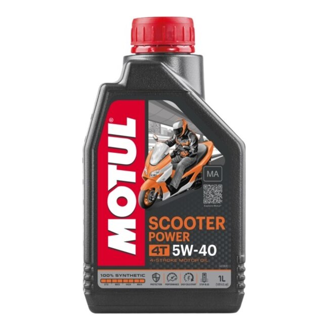 Моторное масло MOTUL SCOOTER POWER 4T MA SAE 5W-40 1 литр