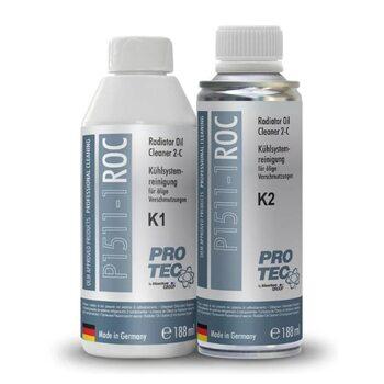 Pro-Tec Radiator Oil Cleaner 2- components K1+K2 P1511-1