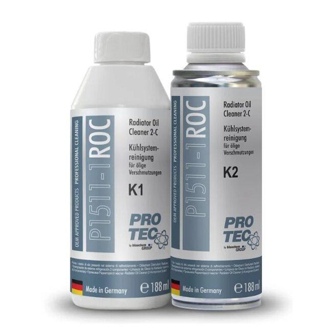 Промывка Pro-Tec Radiator Oil Cleaner 2- components K1+K2 P1511-1