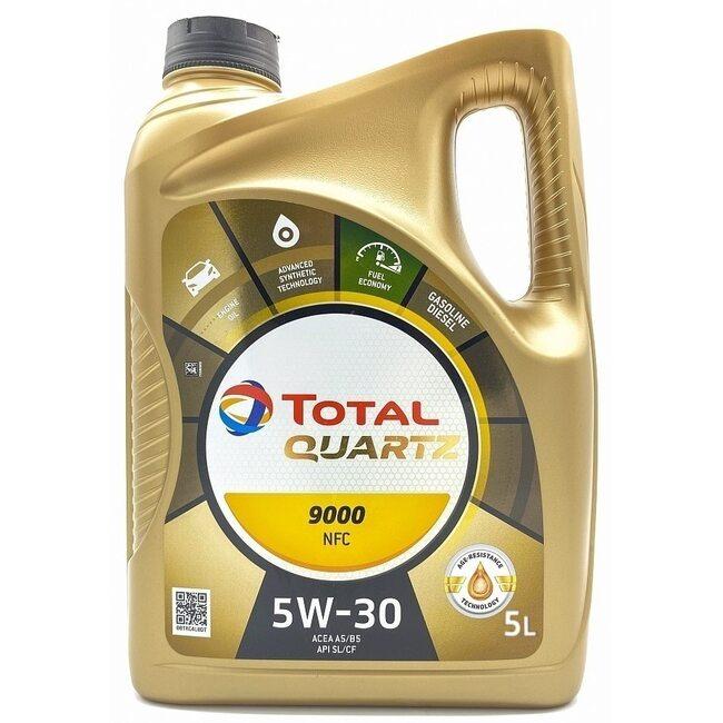 Низкотемпературное масло Total Quartz 9000 Future NFC 5W30 5л