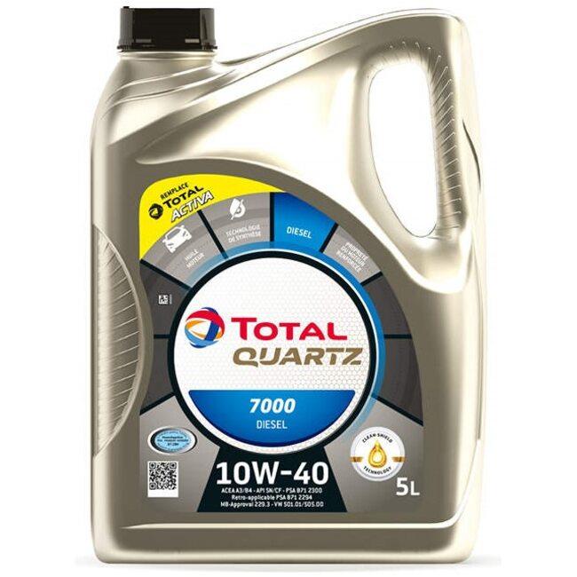 Моторное масло Total Quartz Diesel 7000 10W40 5л